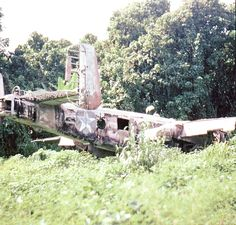B-25G wreck PNG.