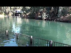 Recorded October The Jordan River or River Jordan flows into the Dead Sea. Tim Travel, Sea Of Galilee, Three Sisters, Travel Videos, Sea Level, Fields, Jordans, Rabbi, River