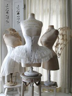 corsets and wings- how lovely!