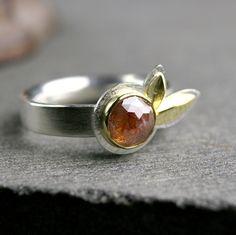 1.16ct rose cut diamond ring by hartleystudio, via Flickr