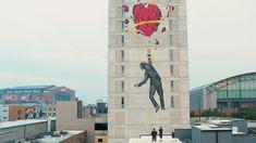 Nick Walker & Biotatscru, 'Love Conquers All' in Indianapolis, USA, 2019 Nick Walker, Love Conquers All, Urban Art