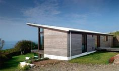 Garage/sauna/guest suite Contemporary Self Build on the Coast   Homebuilding & Renovating