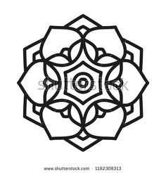 Find Simple Mandala Shape Vector stock images in HD and millions of other royalty-free stock photos, illustrations and vectors in the Shutterstock collection. Thousands of new, high-quality pictures added every day. Mandala Art, Simple Mandala Tattoo, Design Mandala, Mandala Painting, Mandala Drawing, Mandala Pattern, Mandala Stencils, Cute Coloring Pages, Art Journal Techniques