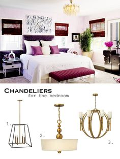 Chandeliers For The Bed Room