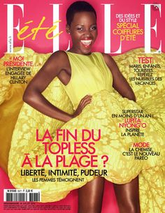Lupita Nyong'o for Elle France #3577 July 18th 2014