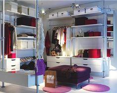 """Dressing """"Stolmen"""" d'Ikea"""
