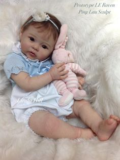 Raven by Ping Lau - Online Store - City of Reborn Angels Supplier of Reborn Doll Kits and Supplies Life Like Baby Dolls, Life Like Babies, Real Baby Dolls, Realistic Baby Dolls, Cute Babies, Reborn Toddler Girl, Toddler Dolls, Reborn Babies, Beautiful Babies