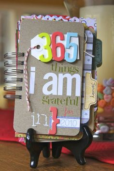 365 Days of Pinterest: Day 1 ~ Journal Your Gratitudes | Everything Your Mama Made & More