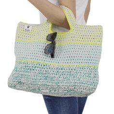 Anleitung für gehäkelte Tasche Seto