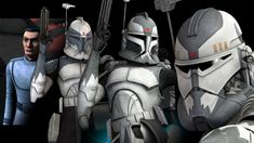 The Evolution of Commander Wolffe (from The Clone Wars and Rebels) Star Wars The Old, Star Wars Clone Wars, Star Wars Art, Best Star Wars Characters, Captain America Suit, Star Wars History, Republic Commando, Star Wars Images, The Old Republic