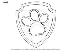 Ryder is a male character from PAW Patrol. He uses badge for the identification…