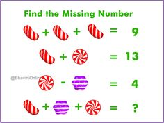 Fun WIth Maths: Find the Missing Number in The Picture Math Class, Fun Math, Math Games, Math Activities, Preschool Math, Math Math, Maths Puzzles, Math Worksheets, Math Problem Solving