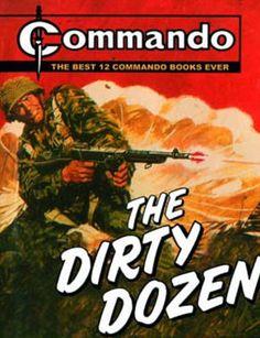 Commando comics The Dirty Dozen