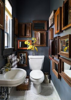 Get inspired by Eclectic Bathroom Design photo by Chango & Co. Wayfair lets you find the designer products in the photo and get ideas from thousands of other Eclectic Bathroom Design photos. Bad Inspiration, Bathroom Inspiration, Bathroom Ideas, Bathroom Designs, Bathroom Updates, Bathroom Small, Bathroom Inspo, Funky Bathroom, Gothic Bathroom