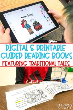 Your students will LOVE these guided reading books and activities about their favorite traditional tales. You will LOVE the guided reading lessons that make your planning simple and stress-free!