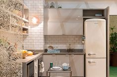 6F9B7280_Foto_Julia_Ribeiro High Design, Ideal Home, Small Spaces, Kitchen Decor, Sweet Home, Kitchen Cabinets, Architecture, Cooking, Room