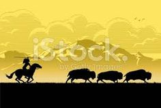 Image result for buffalo silhouettes