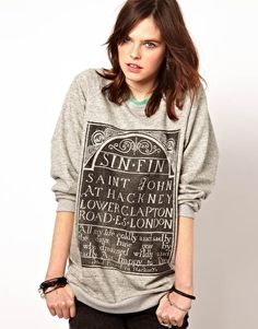 The Orphan's Arms Sin Oversized Sweat (With images) | Latest fashion clothes,  Sweatshirts women, Sweatshirts