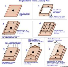 1000 ideas about purple martin house plans on pinterest for Free martin house plans