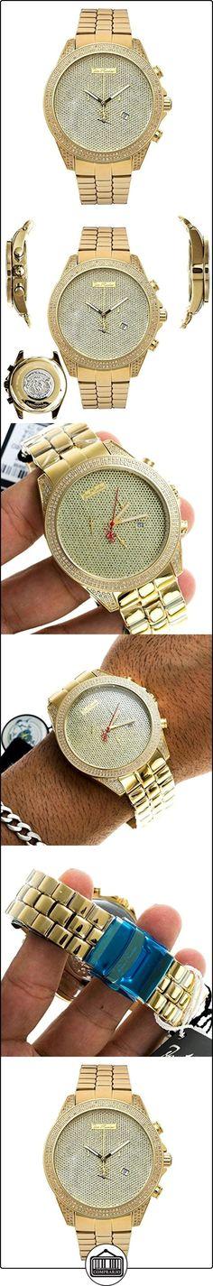 JOE RODEO Diamond Reloj para hombre-Empire Oro 2,25quilates de  ✿ Relojes para hombre - (Lujo) ✿