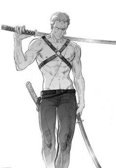 Roronoa Zoro - One Piece by Shoe68.Com