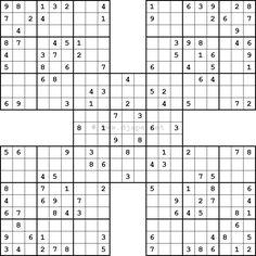 photo relating to Washington Post Sudoku Printable named 115 Suitable Sudoku shots within 2019 Sudoku puzzles, Samurai