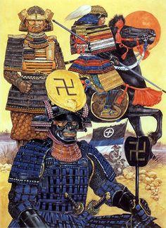 The Tozama (outer Lords) 1592 - 1600 Shimazu Toshihisa e Shimazu Yoshihiro  Primo piano Uesugi Kagekatsu