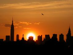 New York Skyline Sunset is a must see. <3