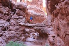 Inside #Fiery #Furnace, #Arches NP, #Moab UT