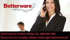 Przedstawiciel Betterware Małgorzata - Skierniewice i okolice  Tel.667 160 766 malgorzata_studniarek@wp.pl