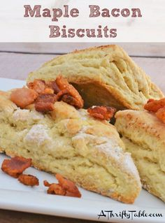 Maple Bacon Biscuits: Ruby Tuesday Copycat Recipe