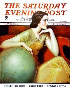 Benda, The Saturday Evening Post