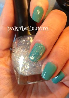 LACC nail polish 1977 and Venique Top Thong - click for more swatches