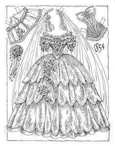 Victorian Bride 1854