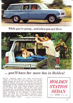 Holden Wagon, Holden Australia, Car Facts, Australian Cars, Car Brochure, Car Advertising, Station Wagon, Old Trucks, Motor Car