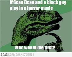 Philosoraptor and Sean Bean