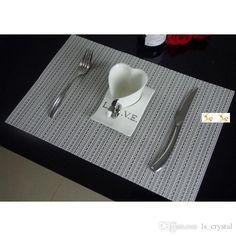 european dining art decor placemats insulation pvc restaurant kitchen table mats coaster pads promotion online sd744. beautiful ideas. Home Design Ideas