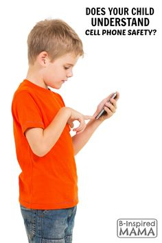 When Should Kids Get Cell Phones - And Other Things to Consider About Kids and Cell Phones - B-Inspired Mama  Sponsored #CSsmartmom