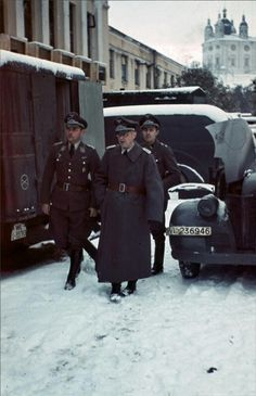 Luftwaffe officers in Smolensk, pin by Paolo Marzioli