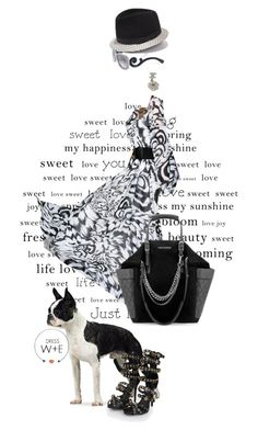 Graphic swirl by pensivepeacock on Polyvore featuring polyvore fashion style Jimmy Choo Prada clothing