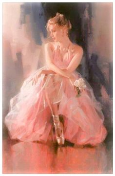 Art Original Oil painting Impressionism Portrait girl on canvas Art Ballet, Ballet Painting, Dance Paintings, Ballerina Kunst, Beautiful Paintings, Oeuvre D'art, Love Art, Female Art, Amazing Art