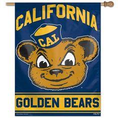 Cal Berkeley Golden Bears Throwback House Flag Banner