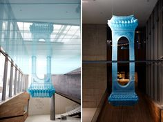 do ho suh: home within home at leeum samsung museum of art 'reflection', 2005-2011  polyester fabric, metal armature