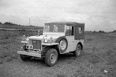 """Toyota """"Jeep,"""" The First Land Cruiser - Four Wheeler 4x4, Vintage Cars, Antique Cars, Four Wheelers, Transfer Case, Toyota Land Cruiser, Vintage Japanese, Motor Car, Nissan"""