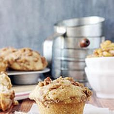 Bakery Style Brown Butter Apple Pie Muffins Recipe