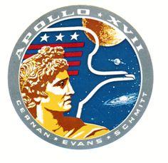 Apollo 17. Final manned lunar landing mission, launched. Dec. 7th
