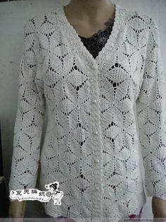 Crochet Patterns to Try: Office Worthy Cardigan - Crochet Photo Tutorial