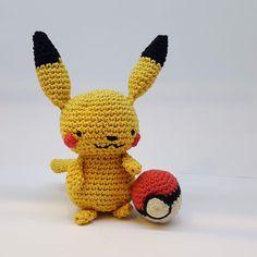 Virkkuumania: Ihana virkattu Pikachu Pikachu, Pokemon, Tweety, Fictional Characters, Art, Art Background, Kunst, Performing Arts, Fantasy Characters