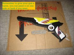 How to make your own Killjoy cardboard lasergun