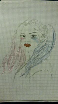Harley Quinn drawing by janine nauer